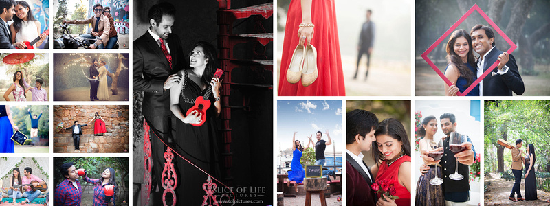 Best locations for pre-wedding photoshoot